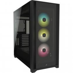 CORSAIR iCUE 5000X RGB TG mid-tower, černá CC-9011212-WW