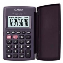 Casio Kalkulačka HL 820LV BK, čierna, vrecková, osemmiestna