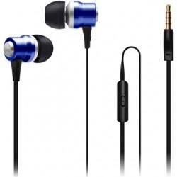 CON IT Slúchadlá do uší ALU Sonics modré CI-1042