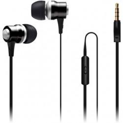 CON IT Slúchadlá do uší ALU Sonics čierne CI-1040