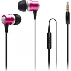 CON IT Slúchadlá do uší ALU Sonics ružové CI-1043