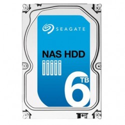 "SEAGATE NAS HDD 6TB 3,5"" 128MB 26mm ST6000VN0021"
