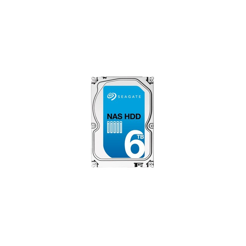"""SEAGATE NAS HDD 6TB 3,5"""" 128MB 26mm ST6000VN0021"""