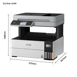 EPSON tiskárna ink EcoTank L6490, A4, 1200x4800dpi, 37ppm, USB,...