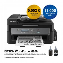 Epson M200, A4 mono All-in-One, ADF, USB, LAN, iPrint C11CC83301