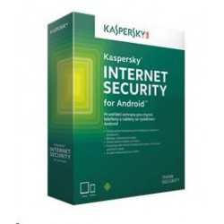 Kaspersky Internet Security for Android CZ, 1x mobil alebo tablet, 1 rok, nová licencia, box KL1091OBAFS-CZ