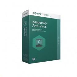 Kaspersky Anti-Virus 2017 CZ, 1PC, 1 rok, nová licence, box KL1171OBABS-CZ