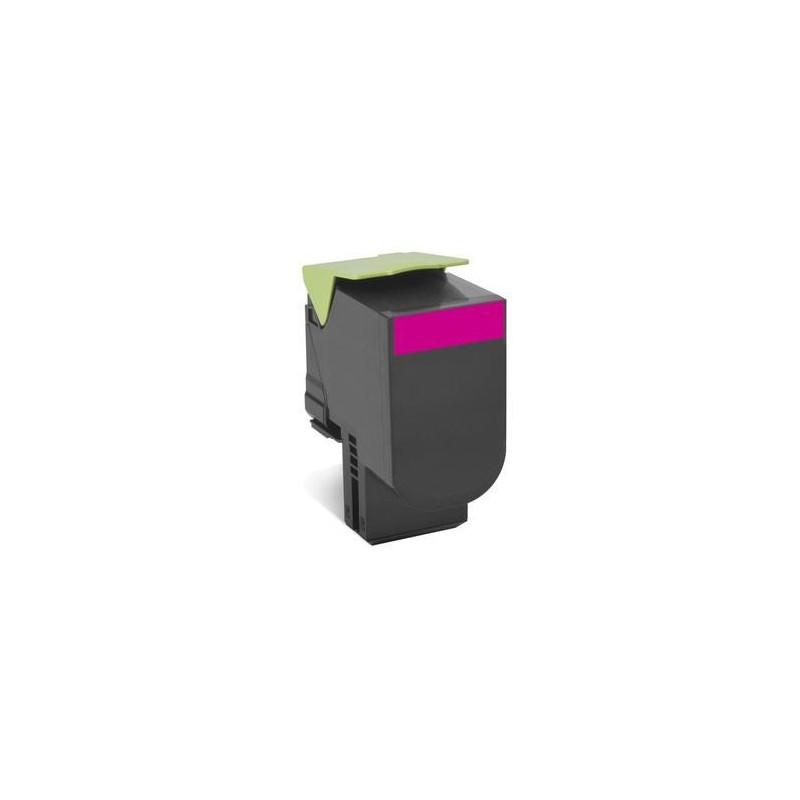Toner Lexmark 802SM magenta | return | 2000 pgs| CX310dn / CX310n / CX410de / CX 80C2SM0
