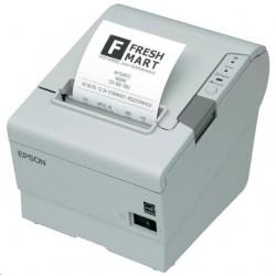 EPSON TM-T88VI pokladní tiskárna, USB + ether., buzzer, bílá, se...