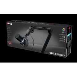 TRUST mikrofon GXT 255+ ONYX MICROPHONE & ARM 24354