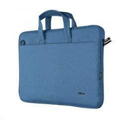"TRUST Pouzdro na notebook 16"" Bologna Slim Laptop Bag Eco, modrá 24448"