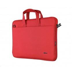 """TRUST Pouzdro na notebook 16"""" Bologna Slim Laptop Bag Eco, červená..."""