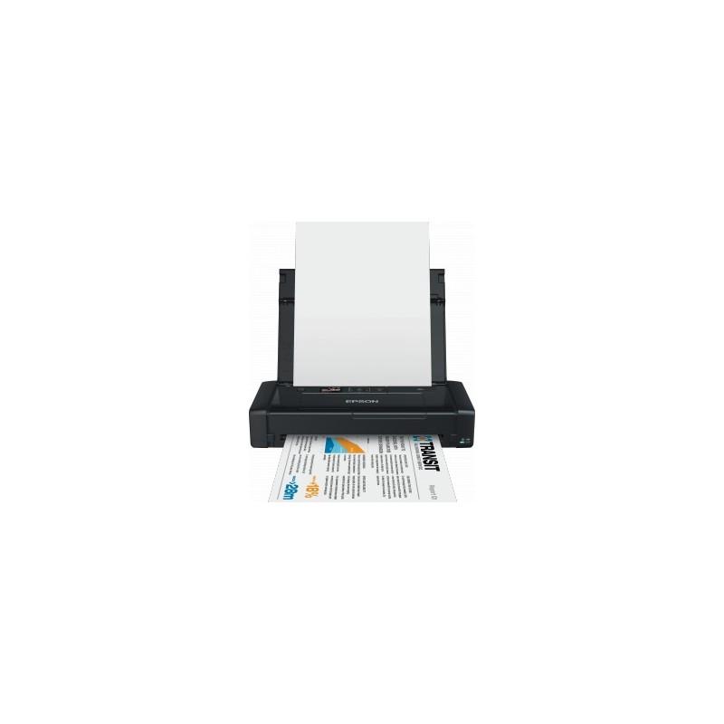 Epson WorkForce WF-100W, A4, USB, WiFi - prenosna C11CE05403