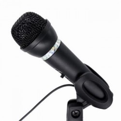 Gembird Mikrofon na stůl MIC-D-04, HQ, černý MIK051125