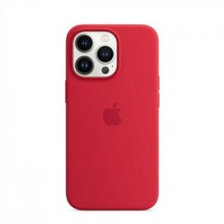 Apple iPhone 13 Pro Silicone Case with MagSafe - (PRODUCT)RED...