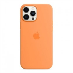 Apple iPhone 13 Pro Max Silicone Case with MagSafe - Marigold...