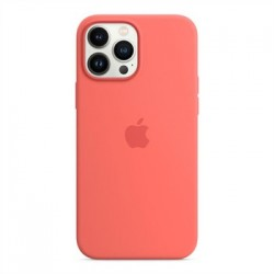 Apple iPhone 13 Pro Max Silicone Case with MagSafe - Pink Pomelo...