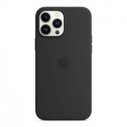 Apple iPhone 13 Pro Max Silicone Case with MagSafe - Midnight...