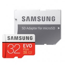 SAMSUNG Micro SDHC EVO Plus 32GB (2017) MB-MC32GA/EU
