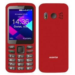 ALIGATOR BS500 Senior červený ABS500R