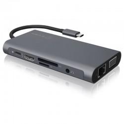 RAIDSONIC ICY BOX USB Type-C/HDMI+USB+Type C+RJ45 IB-DK4040-CPD