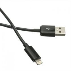 Kabel C-TECH USB 2.0 Lightning (IP5 a vyšší) nabíjací a...