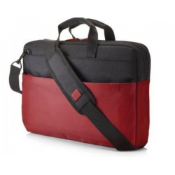 """HP 15.6"""" Duotone BriefCase - Red Y4T18AA#ABB"""