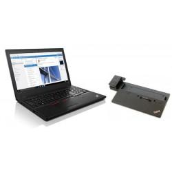 """Lenovo TP T560 i7-6600U 3.4GHz 15.5"""" 3K IPS matny NVIDIA 940MX/2GB 8GB 256GB SSD kb-light FPR W10Pro 20FH003EXS"""