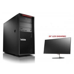 Lenovo TS P320 TWR i7-7700 4.2GHz NVIDIA P600/2GB 8GB 1TB DVD W10Pro cierny 3y OS 30BH0006XS