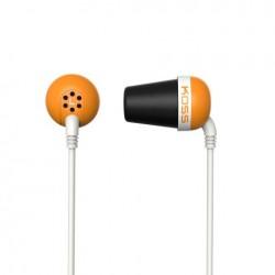 KOSS Plug Color sluchatka vysokej kvality - oranzove PLUG O
