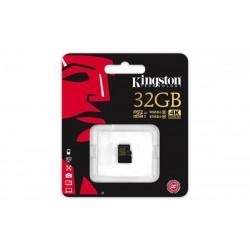 32 GB microSDHC/SDXC karta Kingston Class U3 UHS-I ( r90MB/s, w45MB/s ) SDCG/32GBSP