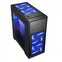 Evolveo T4 case, ATX, 2xUSB3.0 + 2xUSB2.0 + 2x audio, čierny, bez zdroja CAE T4