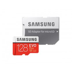 128 GB . microSDHC karta Samsung EVO Plus + adapter MB-MC128GA/EU