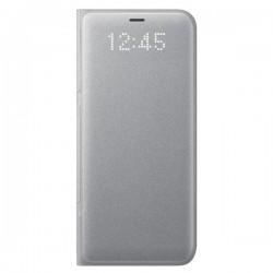 Samsung LED View puzdro pre Samsung S8+, Strieborné EF-NG955PSEGWW