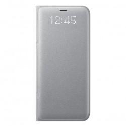 Samsung LED View puzdro pre Samsung Galaxy S8, Strieborné EF-NG950PSEGWW