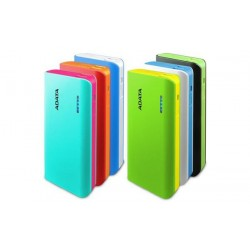 A-DATA Power Bank APT100, 10000mAh, Blue-White APT100-10000M-5V-CBLWH