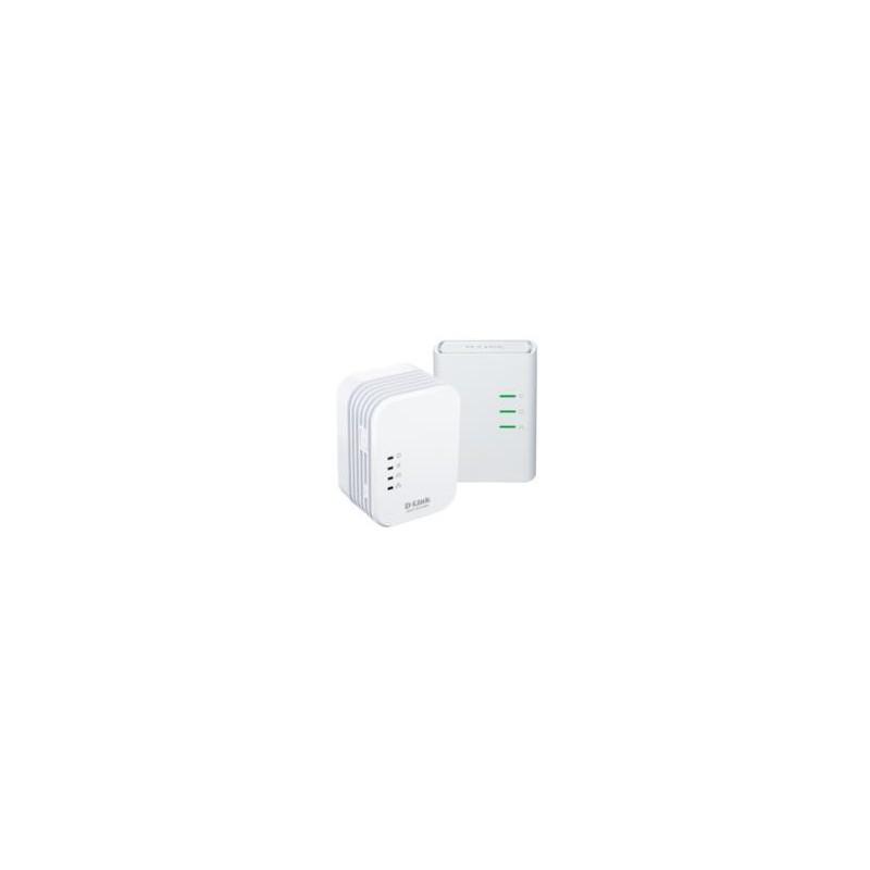 D-Link PowerLine AV 500 Wireless N Mini Extender, QoS, Common Connect Button,WPS DHP-W311AV/E
