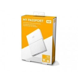 """4TB WD My Passport Black Bird, 2,5"""", USB 3.0, Externý biely WDBYFT0040BWT-WESN"""