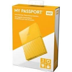 "3TB WD My Passport Black Bird, 2,5"", USB 3.0, Externý žltý WDBYFT0030BYL-WESN"