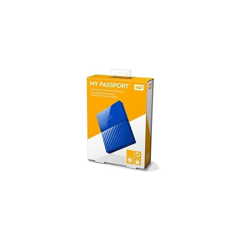 """3TB WD My Passport Black Bird, 2,5"""", USB 3.0, Externý modry WDBYFT0030BBL-WESN"""
