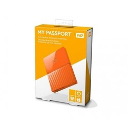 "3TB WD My Passport Black Bird, 2,5"", USB 3.0, Externý oranzovy WDBYFT0030BOR-WESN"
