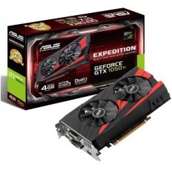 ASUS GeForce GTX 1050 Ti, 4GB GDDR5 (128 Bit), HDMI, DVI, DP EX-GTX1050TI-4G