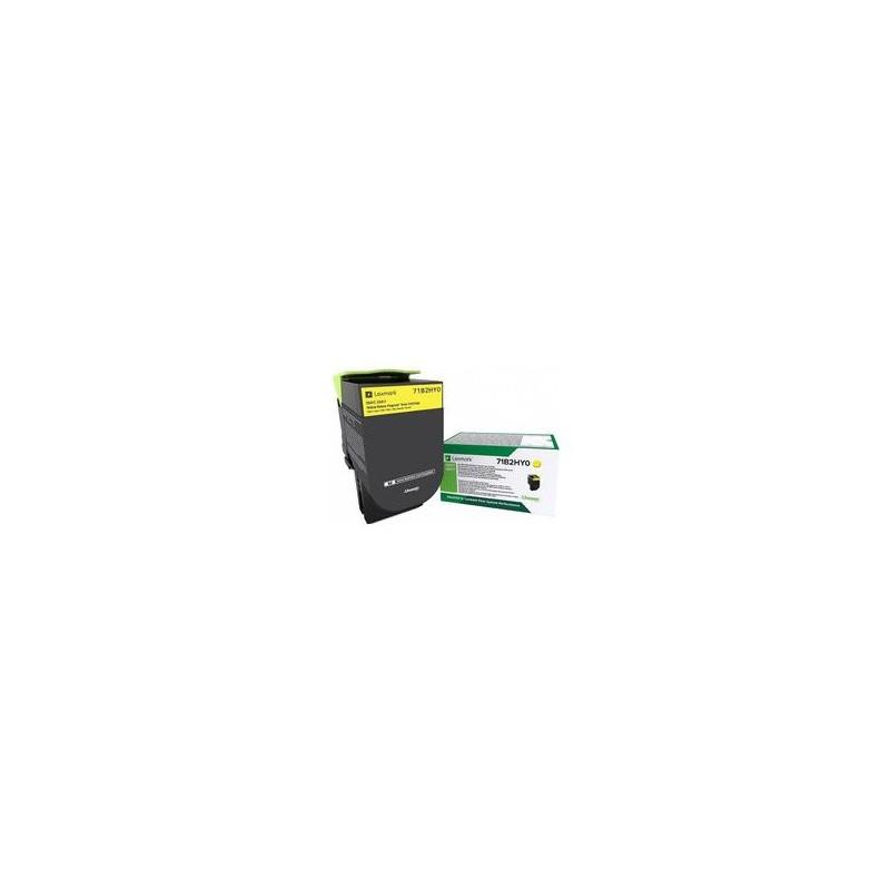 CS/CX41/51x Yellow Toner Cartridge High Return - 3 500 stran 71B2HY0