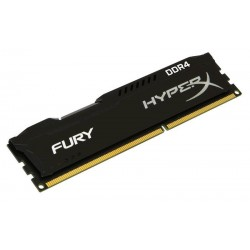 8GB 2400MHz DDR4 Non-ECC CL15 DIMM HyperX FURY Black Series HX424C15FB2/8