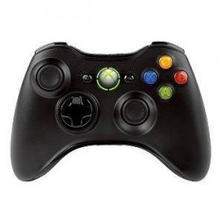 Xbox 360 Wireless Controller Black NSF-00002