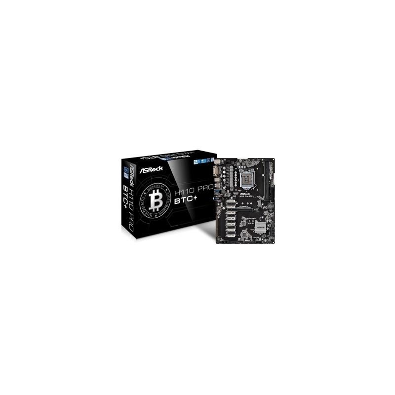 ASROCK Základná doska H110 PRO BTC+