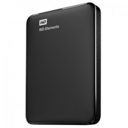 "WD Elements® Portable 2,5"" Externý HDD 750GB 5400RPM USB 3.0, čierny WDBUZG7500ABK-WESN"