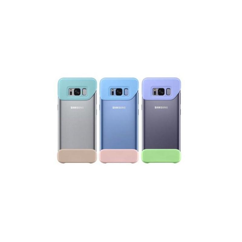 Samsung Zadný kryt 2 diely pre Samsung S8, 3-pack, Mint / Blue / Violet EF-MG950KMEGWW