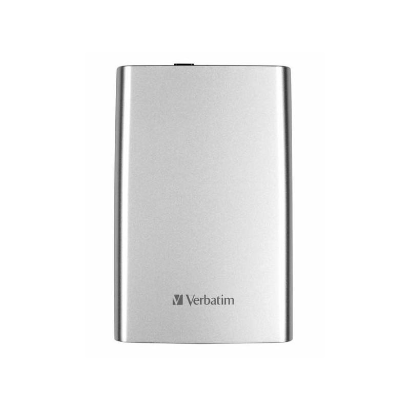 """Externý pevný disk Store ´n´ Go, Verbatim, 2,5"""", 1000GB, 1TB, USB 3.0, 53071, strieborný"""