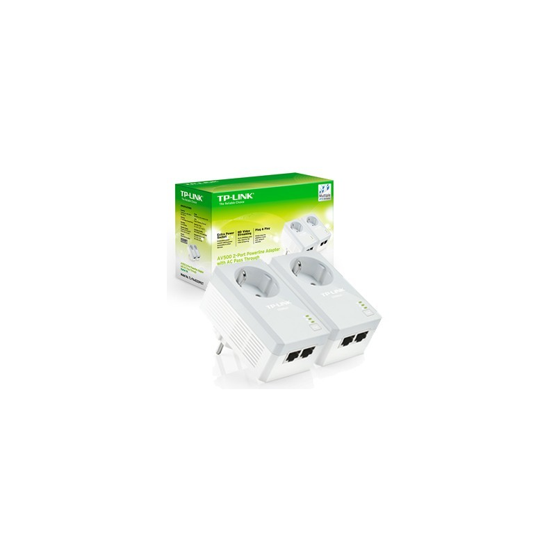 TP-Link TL-PA4020PKIT AV500 2-port Powerline Adapt